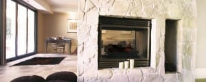 Arctic Collection fireplace