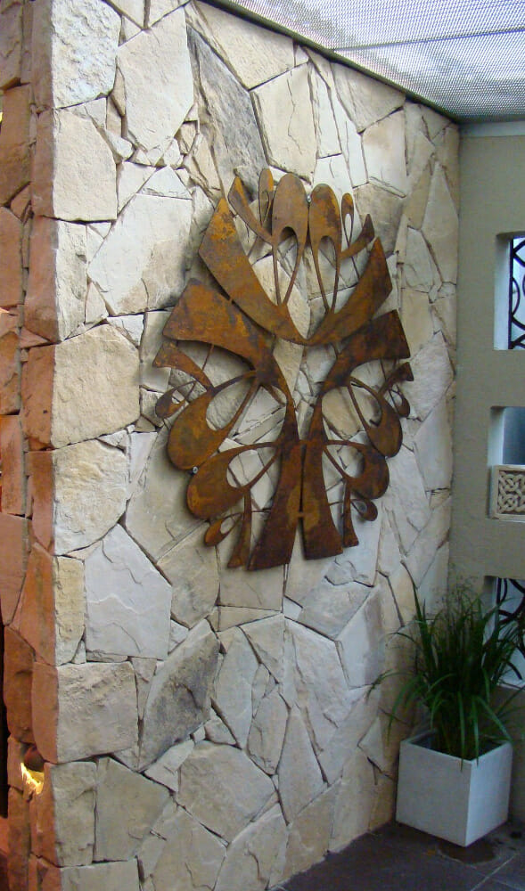 Arctic Sandstone feature wall