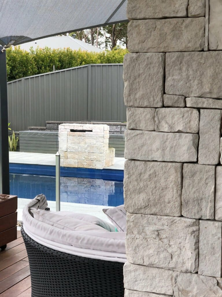 Dry Stacked Limestone