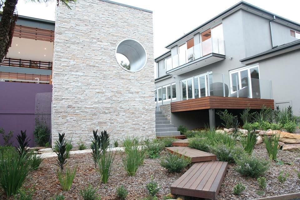 Ledgestone Natural Grey building facade