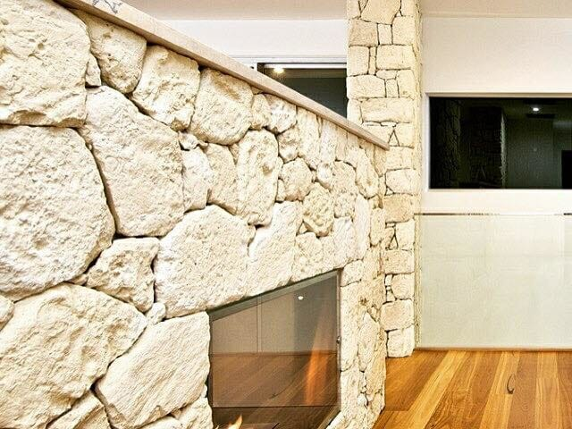 South Coast Limestone dry stacked without mortar