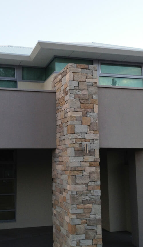 Grey Feature Wall >> Dry Stacked Collection | VENEER STONE - STONE CLADDING