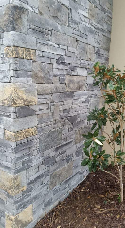 Ledgestone and dry stack slate