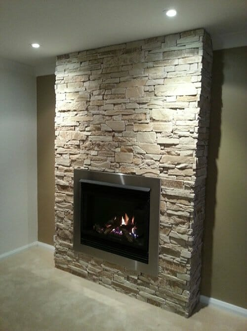 Stone Fireplaces | VENEER STONE - STONE CLADDING