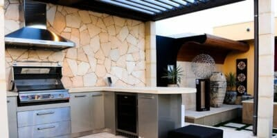 Stone Feature Walls Outdoor Living