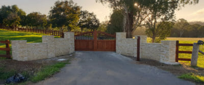 Ledgestone Sandstone entrance