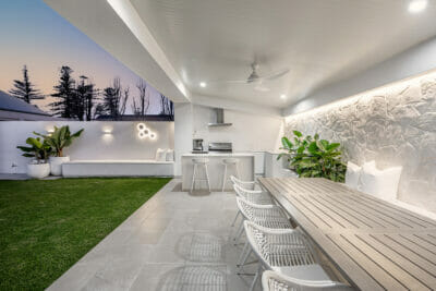 Arctic Collection Limestone Feature Wall